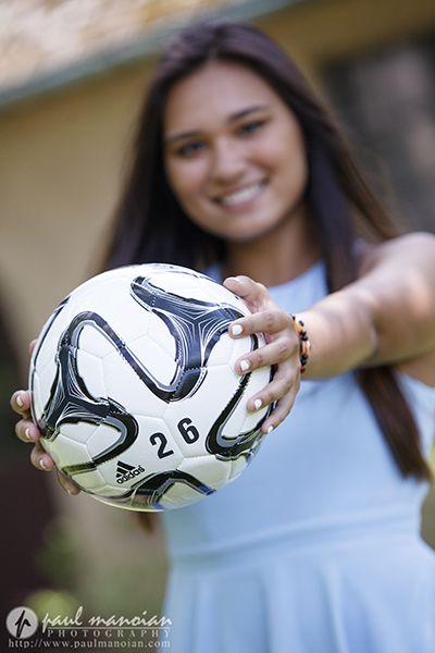 Senior pictures pose ideas for girls - Mercy High School Senior Pictures - Farmington Hills Photographer #soccer