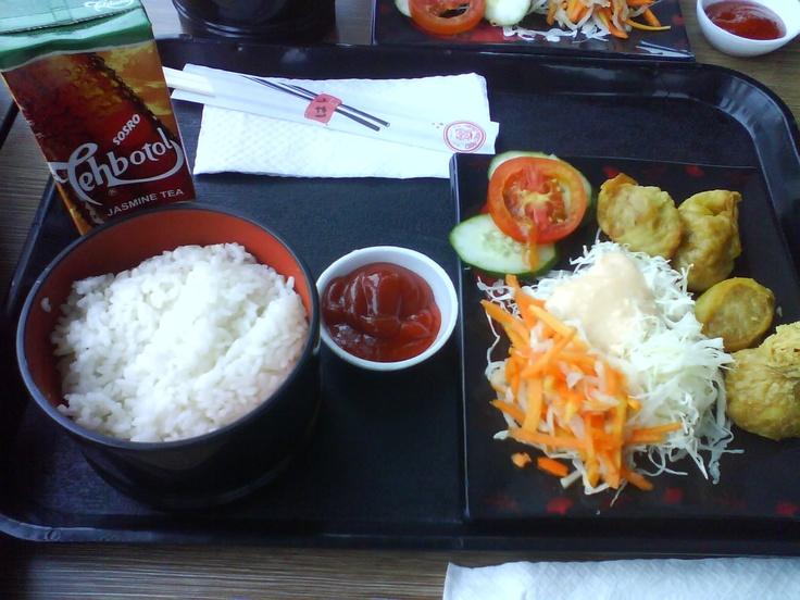 I miss Hoka Hoka Bento in Indonesia Indonesian food