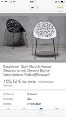 Luxury St hle Stuhl sitze Design designerst hle in Berlin Neuk lln Sessel M bel gebraucht oder neu