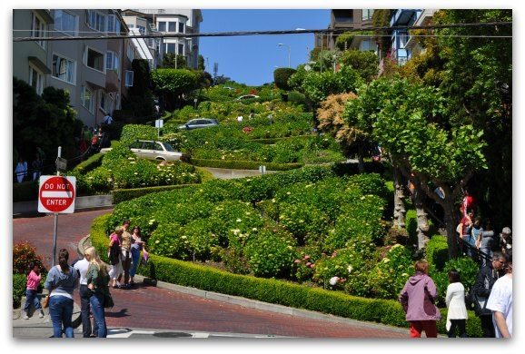 how to get to lombard street
