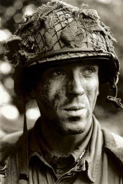 Damian Lewis as Dick Winters - I watched Band of Brothers over and over again