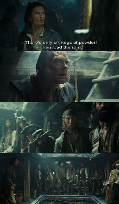 Pirates of the Caribbean:Dead Man's Chest NOT THE RUM!!