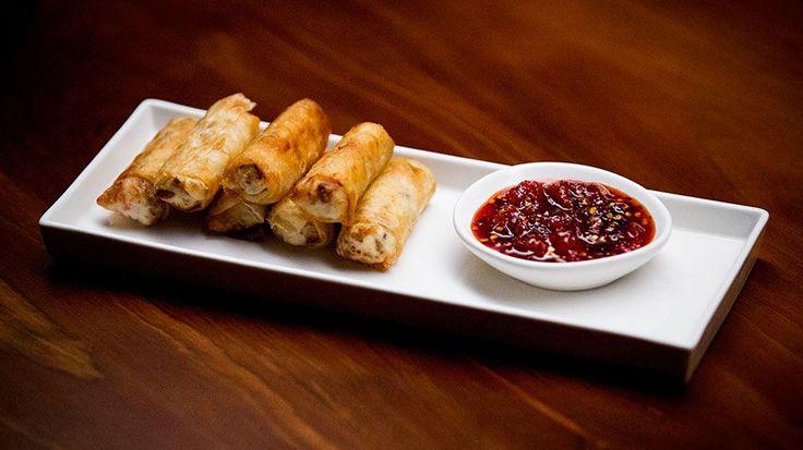 Pork and Ricotta Spring Rolls with Tomato Chilli Jam   MasterChef Australia