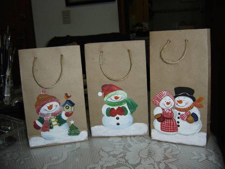 bolsas navideñas - Buscar con Google