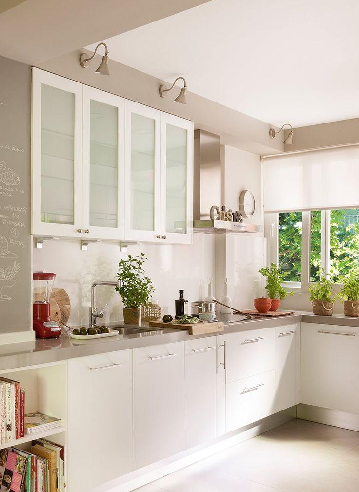 23 best images about cocina on Pinterest Kitchen ideas, Kitchen - cocinas pequeas minimalistas