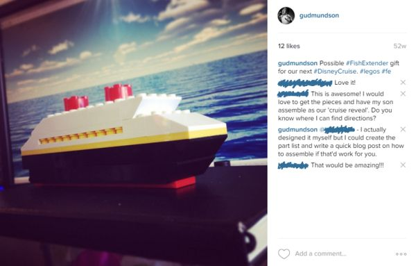 How to build the Disney Magic cruise ship using Legos! Great Fish Extender Idea of even a cruise reveal. Part list included.