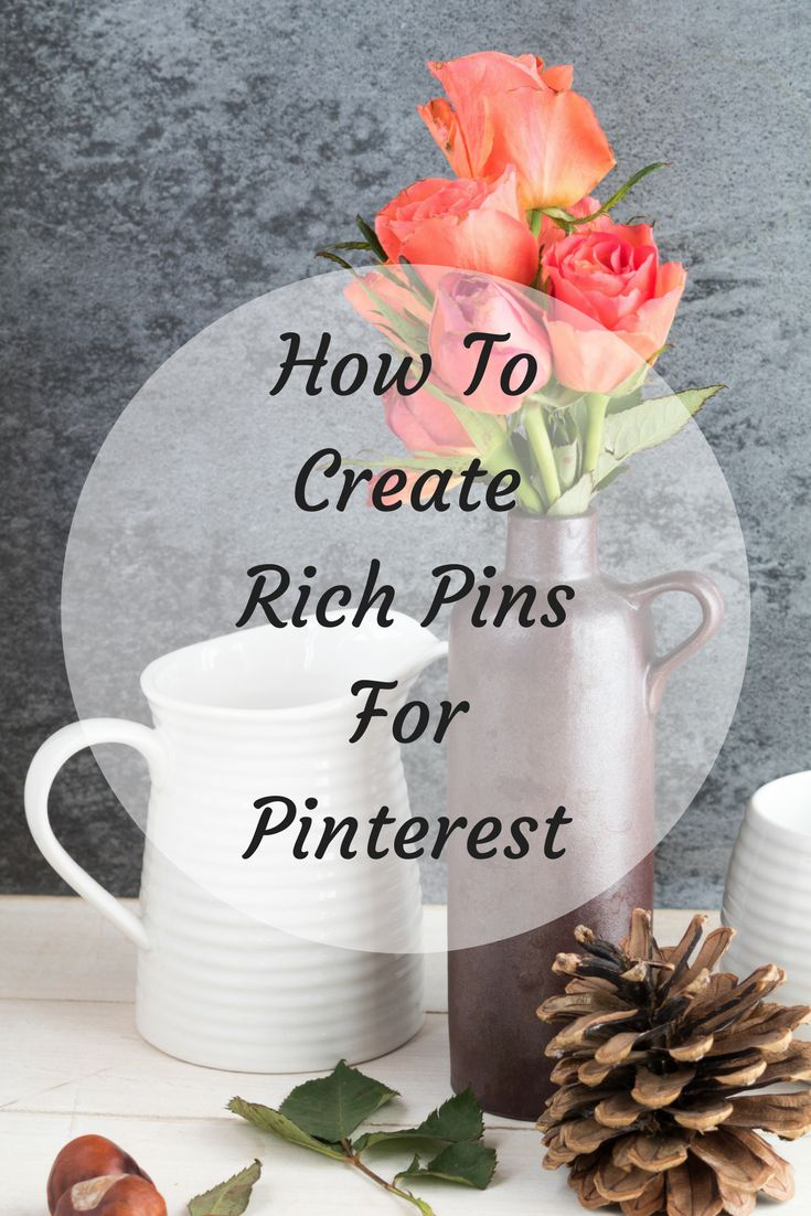 How To Create Rich Pins For Pinterest Stop Your Pins From Being Stolen #richpins #pinteresttips #pinterestideas