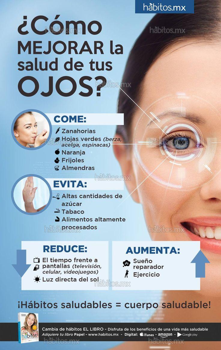 Como mejorar la salud de tus ojos, buenos consejos para cuando pasas mucho tiempo en la computadora. Tips de salud laboral.