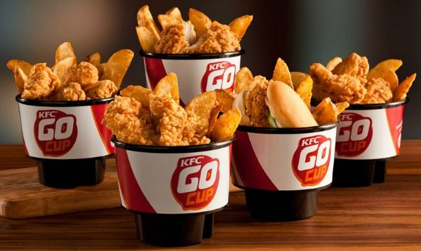 KFC Launches Take-Out Packaging Made to Fit in a Cup Holder