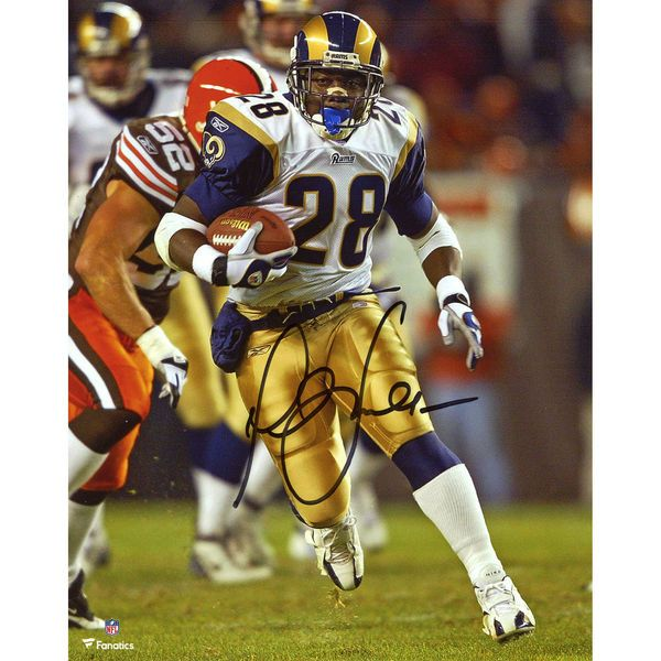 "Marshall Faulk St. Louis Rams Fanatics Authentic Autographed 8"" x 10"" Running Photograph - $139.99"