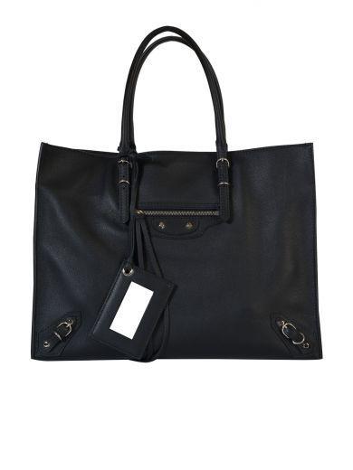 BALENCIAGA Balenciaga Borsa Papier A4 Zip Around. #balenciaga #bags #suede #