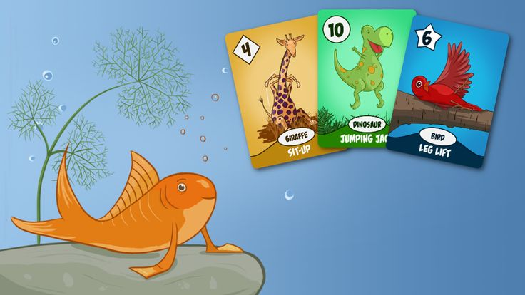 A beautifully illustrated card game for kids that incorporates physical activity to help break those winter blues!