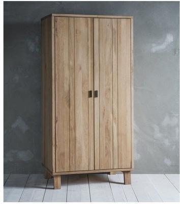 Kielder Simple Wooden Wardrobe