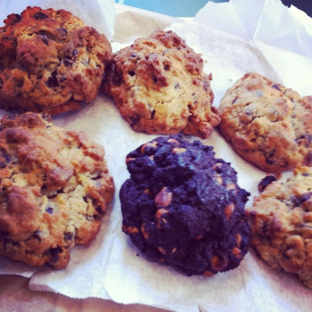 SIX-OUNCE COOKIES FROM LEVAIN BAKERY