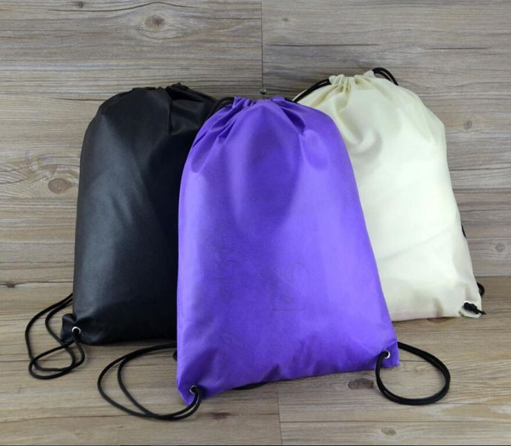 wholesale 1000pcs/lot Customized non-woven bag non woven drawstring bag drawstring backpack non woven shopping bags