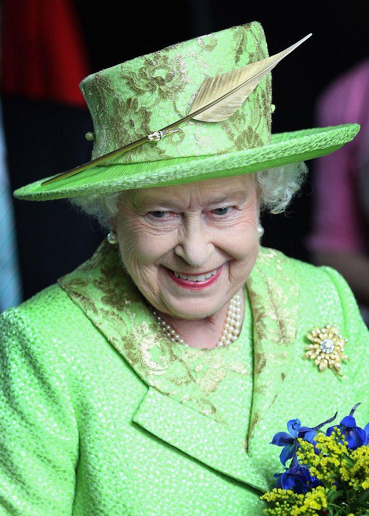 The Queen in Green