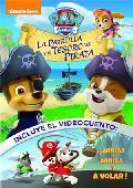 """""""La patrulla y el tesoro del pirata"""" ¡Los miembros de la Patrulla Canina se convierten en piratas en estas seis aventuras! ¡Acompaña a los cachorros cuando descubren una cueva pirata secreta y buscan un tesoro!  ¡haz que un barco pirata fantasma no escape! La Patrulla y el Tesoro del Pirata La Patrulla y el Barco Fantasma La Patrulla Salva la Bahía La Patrulla Salva a los Goodway La Patrulla Salva el Día en la Piscina La Patrulla Salva el Circo Incluye el videcuento  DVD. Signatura: INF SER…"""