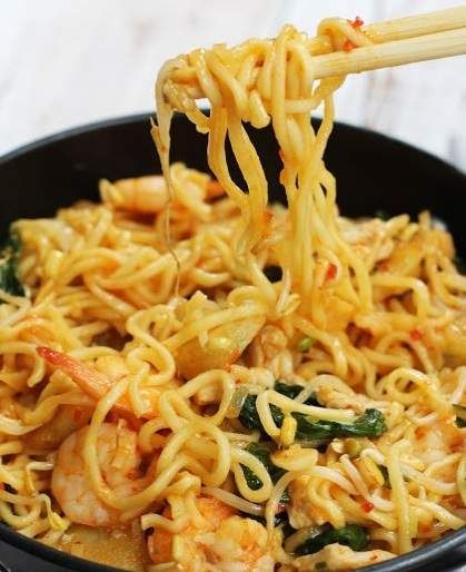 Resep Membuat Mie Goreng Asam Pedas Enak | Resep Masakan Khas Indonesia