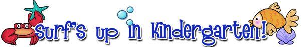 Kindergarten Teacher's Web Site--lots of resources here.