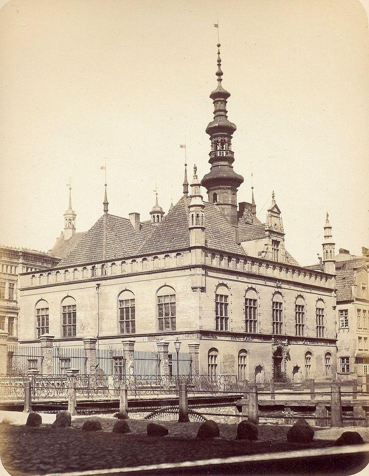Danzig 1865 Altstaedtisches Rathaus