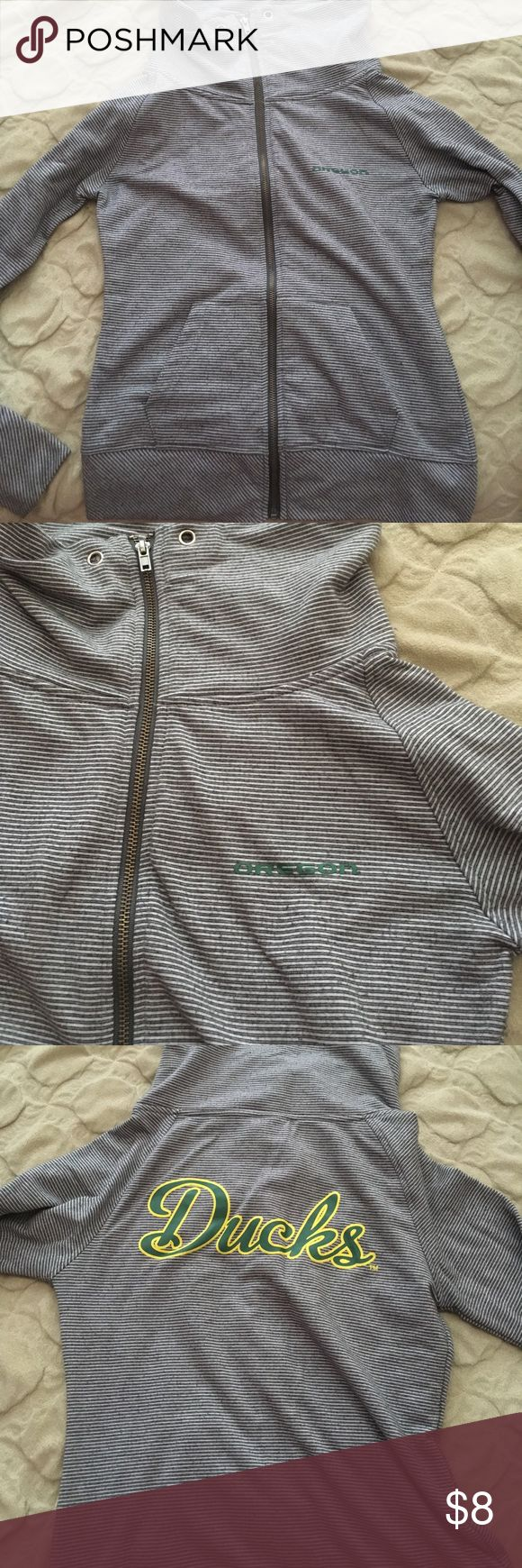 Oregon Ducks jacket Size small fits perfect, worn a couple of times but in good condition :) Colosseum Jackets & Coats