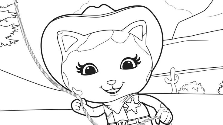 sheriff callie 39 s coloring pages Sheriff Callie and