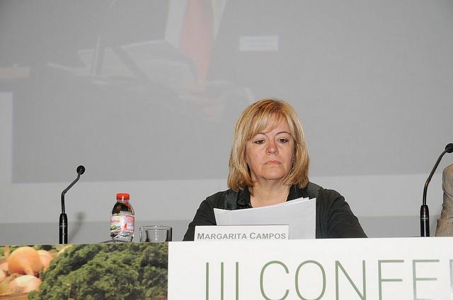 Fundación Triodos - Margarita Campos, presidenta de INTERECO, moderadora de la mesa redonda: Políticas agrarias y sostenibilidad.