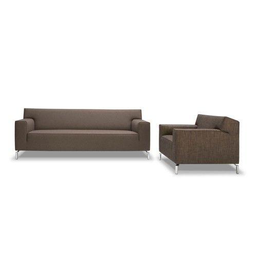 Suze design lounge bank met chaise longue van Jame meubelen, Made in Holland!
