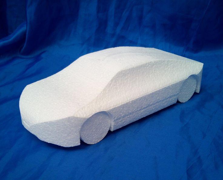 Sports car cake dummy
