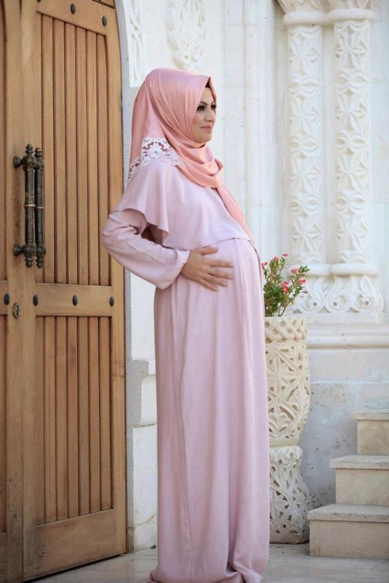 Sik Tesettur Hamile Abiye Modelleri Moda Tesettur Giyim Moda Stilleri Basortusu Modasi Islami Moda