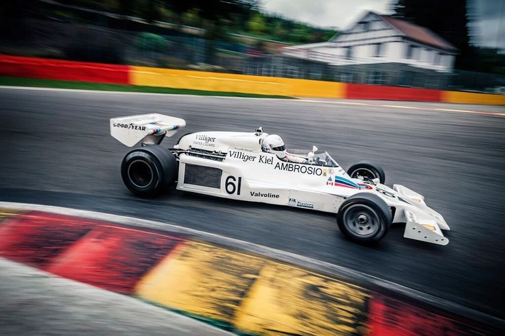 Shadow DN8 circuit Spa Francorchamps Formule 1 car