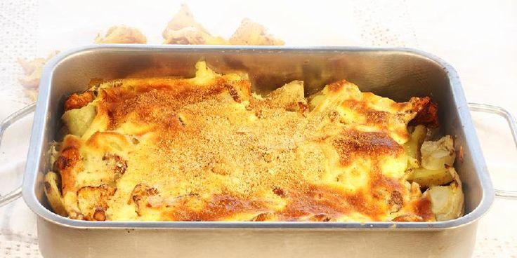 Bakt kylling med fennikel og poteter - Denne kyllingvarianten krever veldig lite arbeid og lager mat til mange. Du kan eksperimentere med ulike kryddertilsettinger, for eksempel oregano, rosmarin, kumin etc.