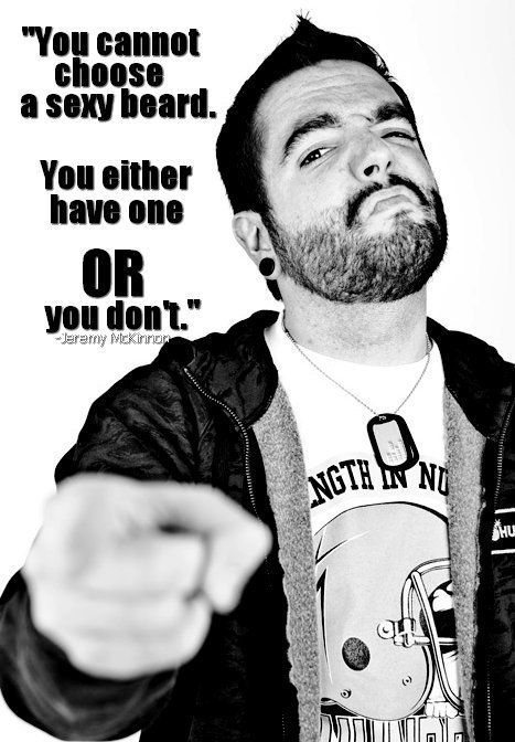 a day to remember; jeremy mckinnon ♥♥♥