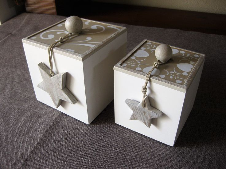 white boxes for Christmas