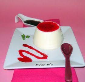 MARUJA LIMÓN---------- Mi blog dulce: Panacota de vainilla