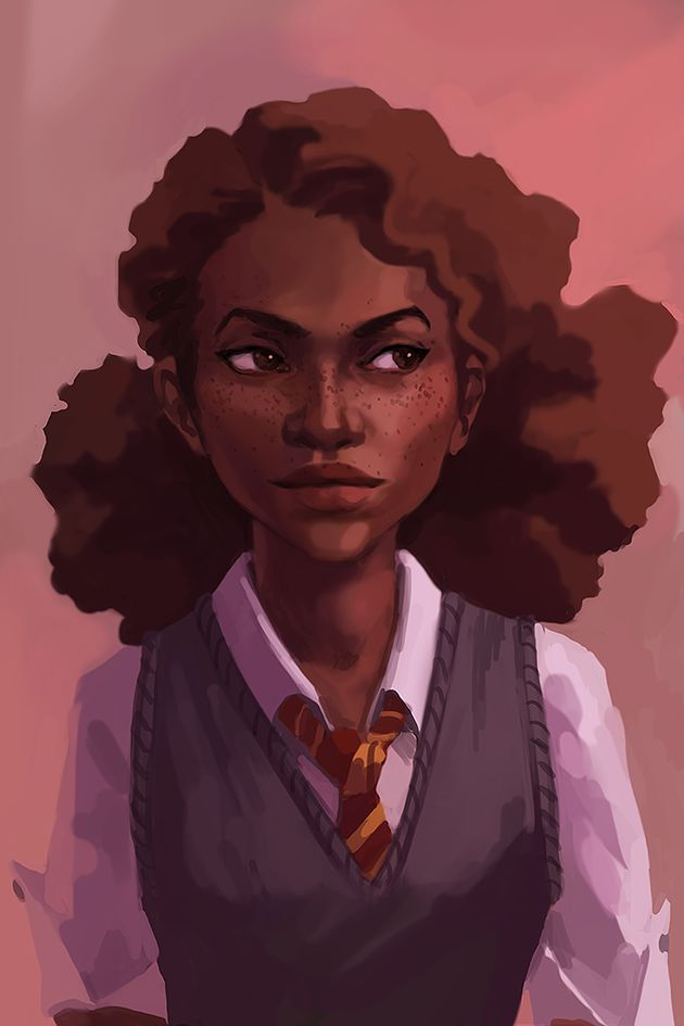 black harry potter characters