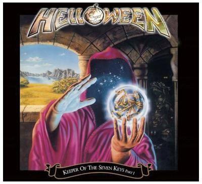 """L'album degli #Helloween intitolato """"Keeper Of The Seven Keys - Part I"""" in versione ampliata in confezione Deluxe con 3 bonus track e un video della traccia """"Halloween""""."""