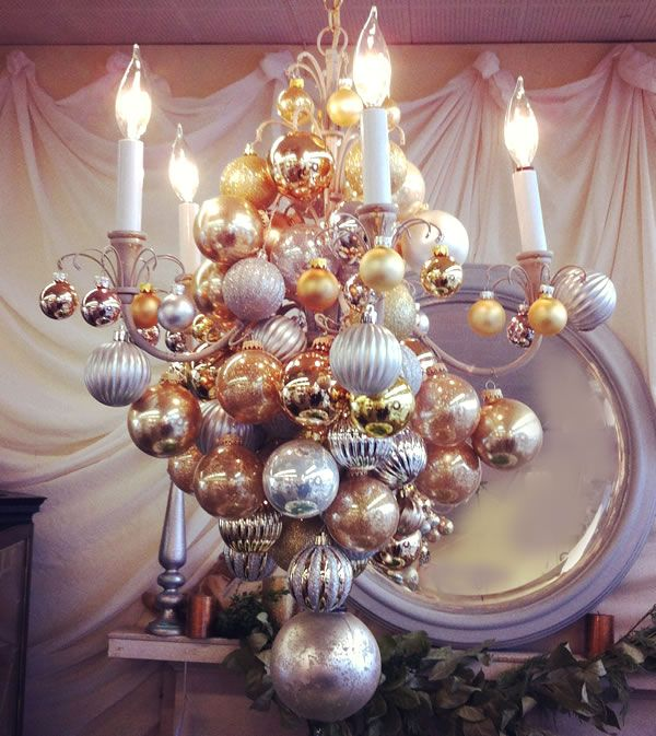 107 best christmas chandelier images on pinterest christmas deco christmas decorations mozeypictures Image collections