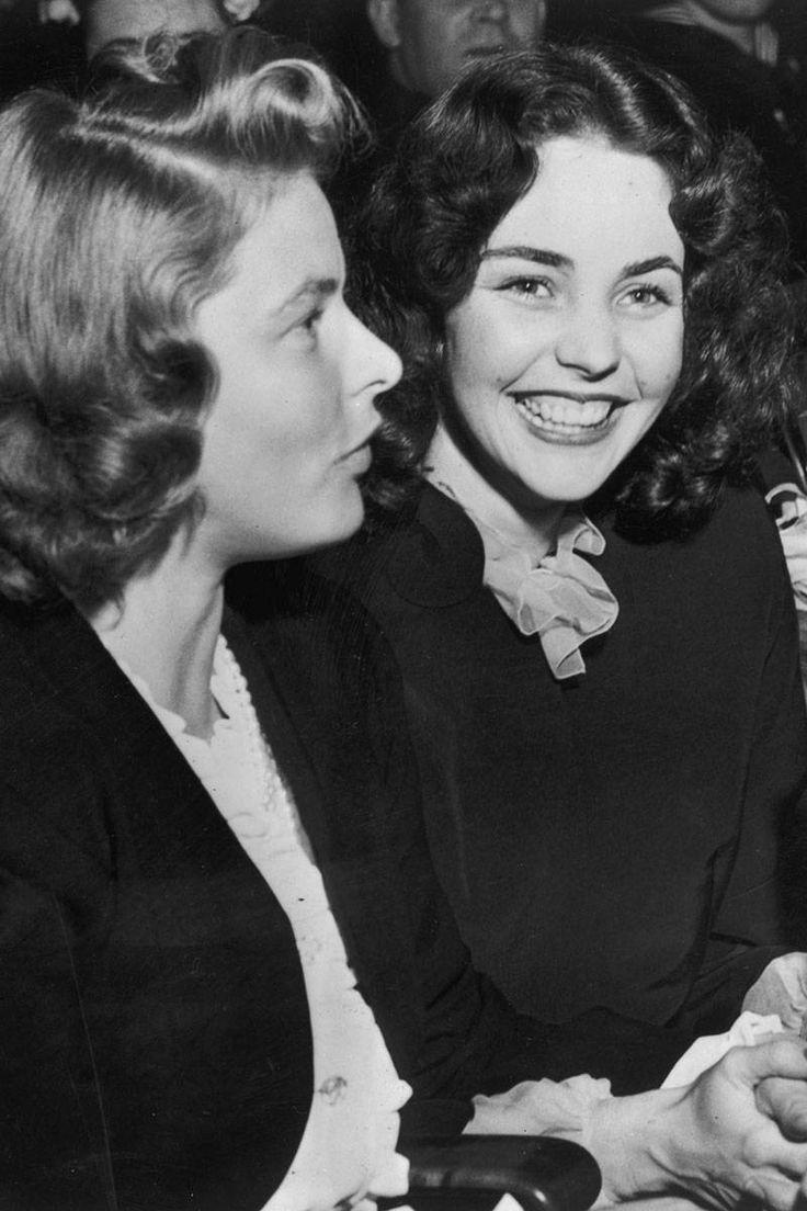 Ingrid Bergman and Jennifer Jones, 1944
