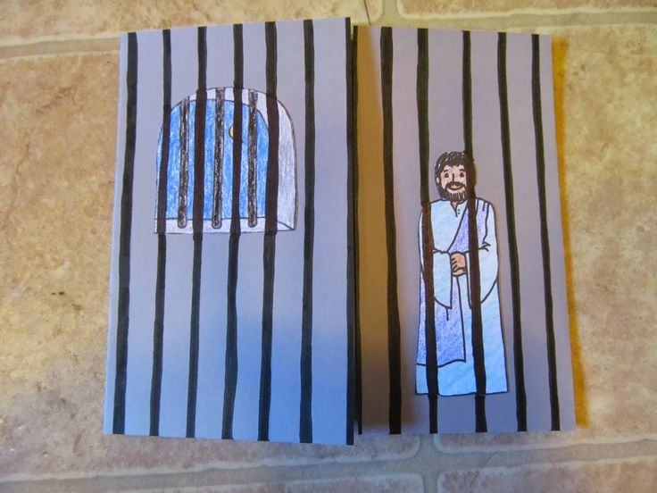 Peter Escaping From Prison Sunday School Pinterest