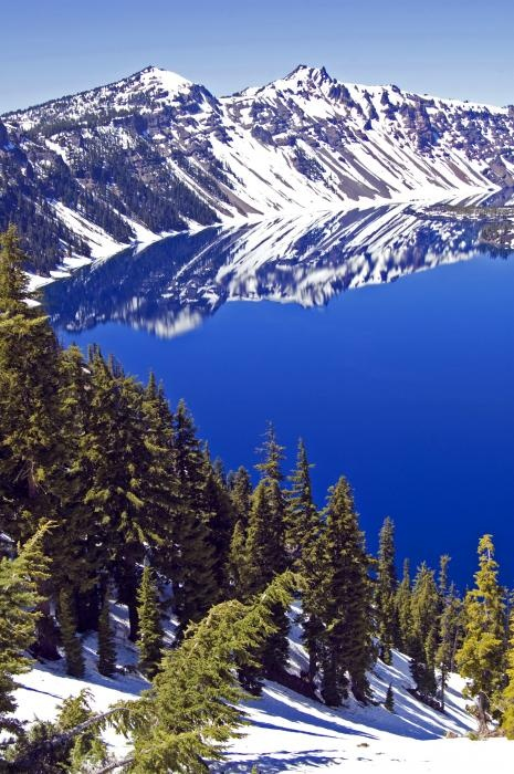 Crater Lake, Oregon.I want to go see this place one day.Please check out my website thanks. www.photopix.co.nz