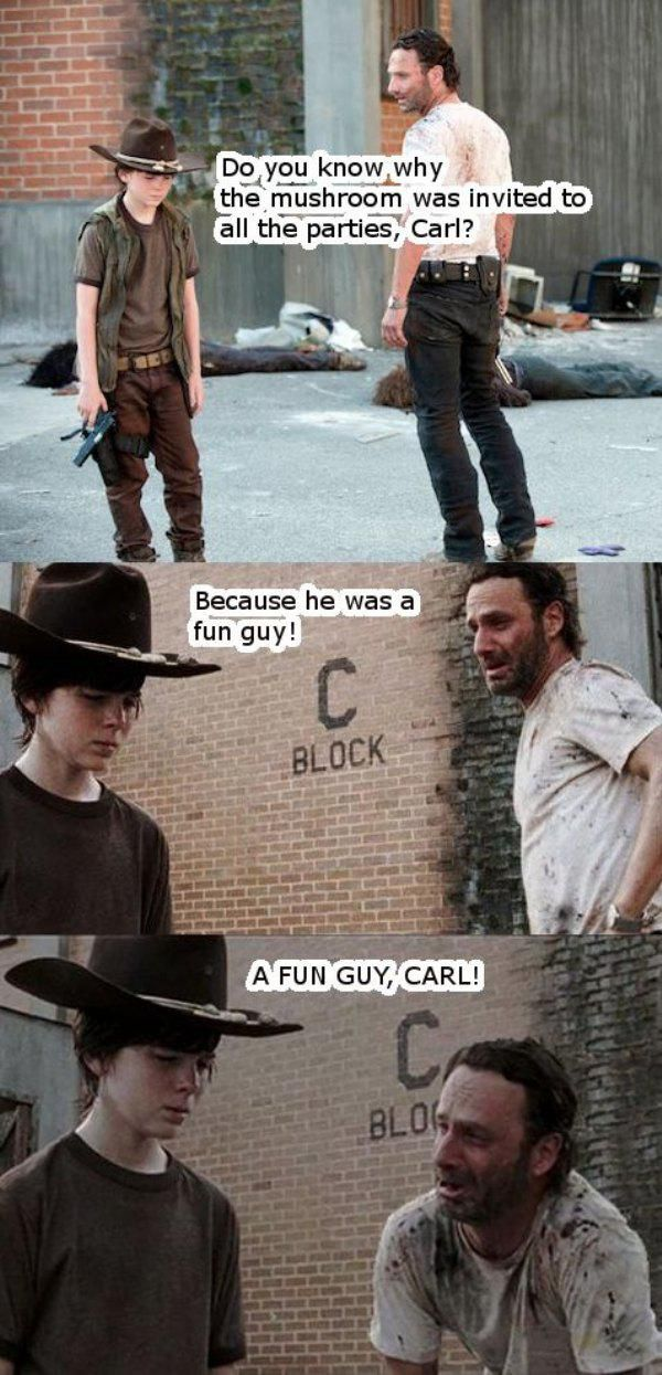 Enjoy a collection of some of the best dad jokes made by Rick from The Walking Dead.