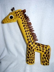 Giraffe Toilet Paper Roll Crafts