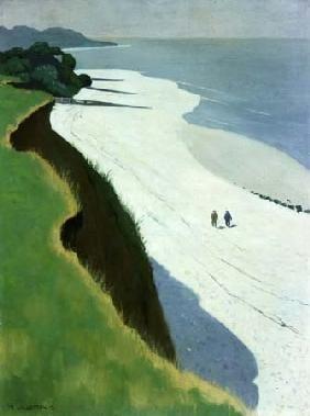 Vallotton, Felix : La scogliera dalla sabbia ...
