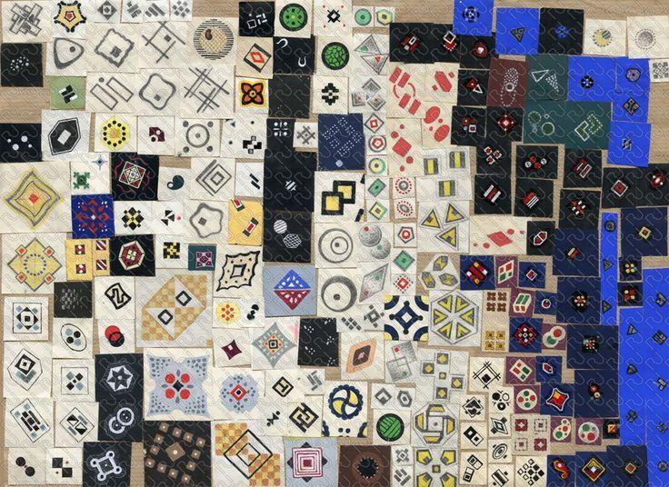 (9136) patchwork classical motif – patchwork motivetti classici – Imagesfashiontextiles