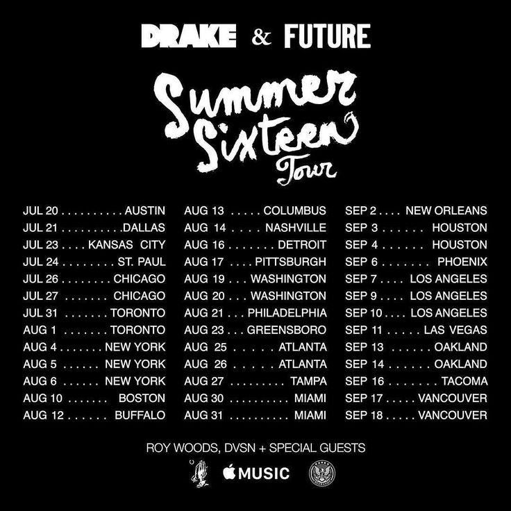 The 25+ best Drake tour dates 2016 ideas on Pinterest | Rihanna ...