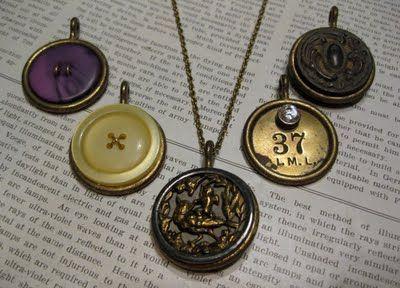 Drapery Ring PendantsFun Diy, Diy Pendants, Crafts Ideas, Pendants I, Drapery Rings, Crafty Fun, Beads Jewelry, Rings Pendants, Jewelry Diy