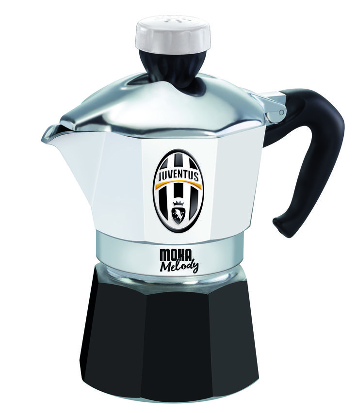 Con l'inno della #Juventus che ci avvisa quando il caffè è pronto, ogni colazione sarà da campioni. #MokaMelodySport --- With the Juventus anthem that alerts you when the #coffee is ready, every #breakfast will be amazing.