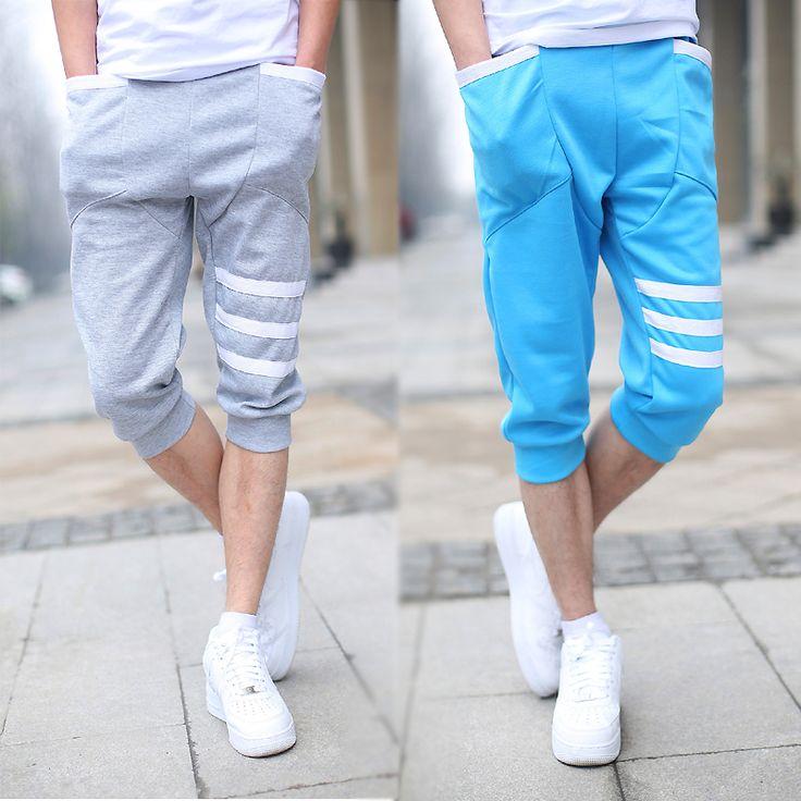 plus size men and boy casual heren shorts jogger shorts cotton elastic waistband shorts men polo free shipping