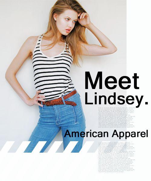 Meet lindsey American Apparel